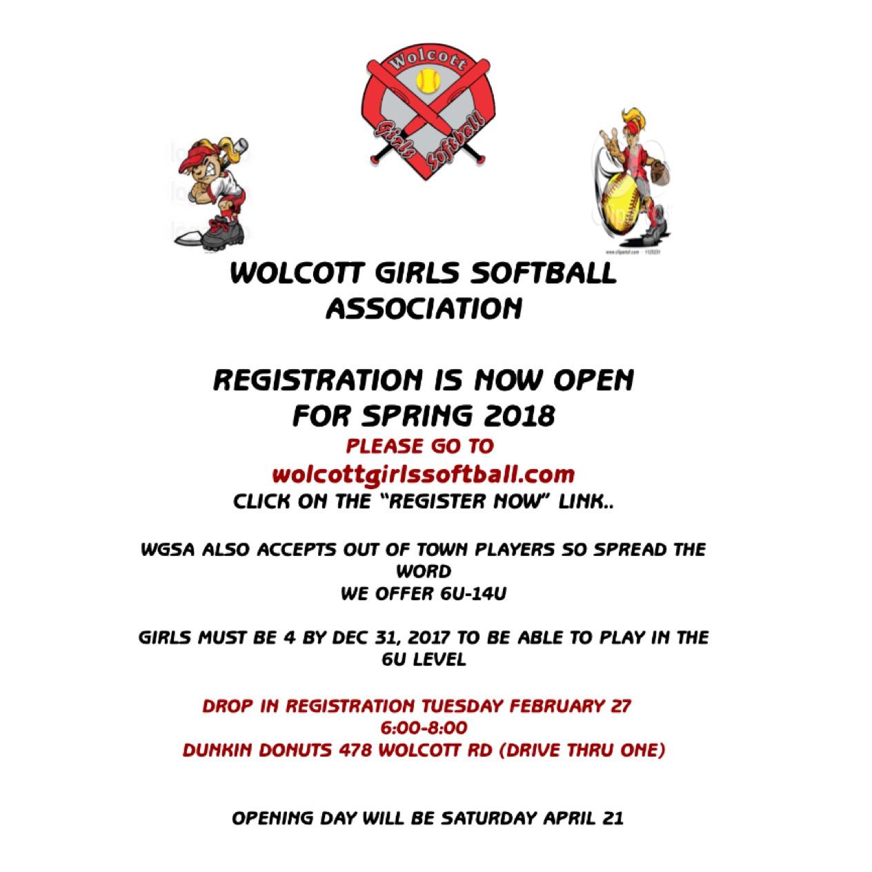 wolcott girls Wolcott girls softball association, wolcott, ct 181 likes 5 talking about this register online---- wwwwolcottgirlssoftballcom.